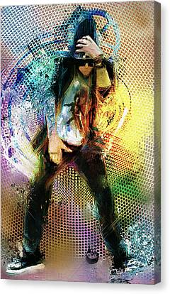 Dance R Die Canvas Print