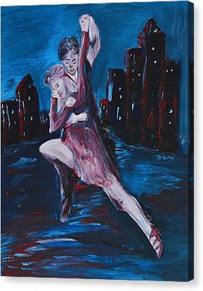 Dance The Night Away Canvas Print