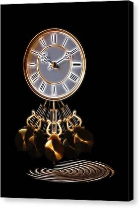 Designs On Face Canvas Print - Dance Time by Gill Billington
