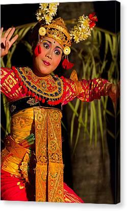Dancer - Bali Canvas Print