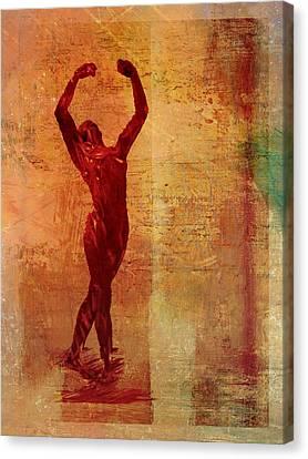 Dancer Canvas Print by David Ridley
