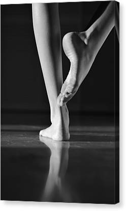 New Stage Canvas Print - Dancer by Laura Fasulo