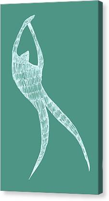 Dancer Canvas Print by Michelle Calkins