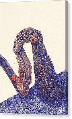 Dancer- #ss14dw012 Canvas Print by Satomi Sugimoto