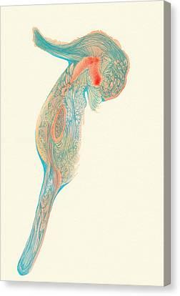Dancer- #ss14dw017 Canvas Print by Satomi Sugimoto