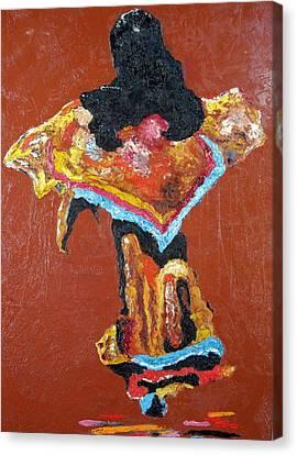 Dancer Canvas Print by Tom Shinas