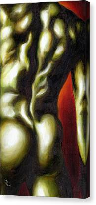 Dancer Two Canvas Print