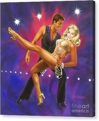 Dancer's Fantasy Canvas Print
