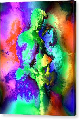 Dancers Canvas Print by Kurt Van Wagner