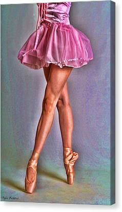 Dancer's Legs Canvas Print