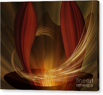Dances With Fire Canvas Print