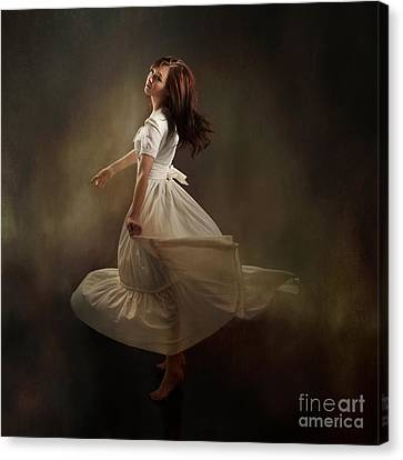 Dancing Dream Canvas Print by Cindy Singleton