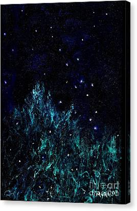 Dancing Fireflies Canvas Print