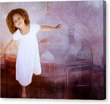Dancing In A Fairy Tale Canvas Print by Gun Legler