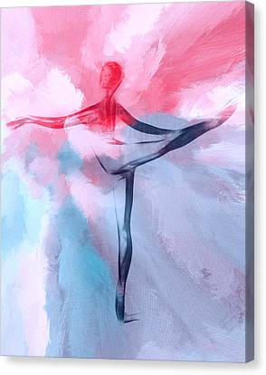 Dancing In Heaven Canvas Print by Steve K
