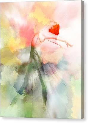 Dancing In Paradise Canvas Print by Steve K