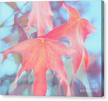 Dancing Leaves Canvas Print