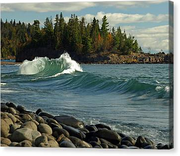Dancing Waves Canvas Print