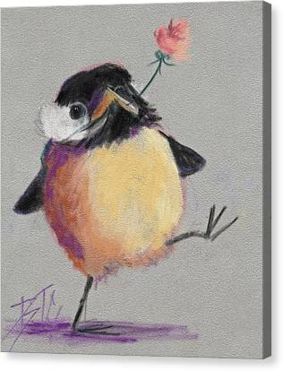 Dancing With Joy Canvas Print by Billie Colson