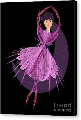 Dancing With The Moon A Canvas Print by Andee Design