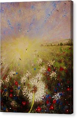 Dancing With The Sun... Canvas Print by Cristina Mihailescu