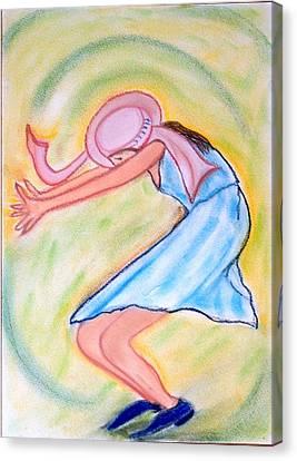 Dancy Nancy Canvas Print
