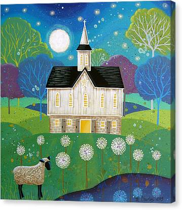 Dandelion Dream Canvas Print