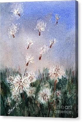 Dandelioniii Canvas Print