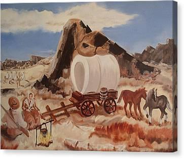Dangerous Encampment Canvas Print