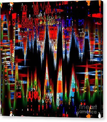 Canvas Print - Dangerous Pulse by Ashantaey Sunny-Fay