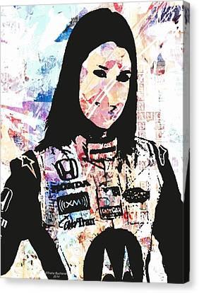 Danica 10 Canvas Print by Trisha Buchanan