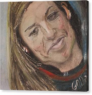 Danica Patrick Canvas Print