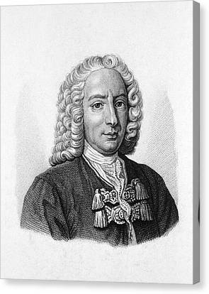 Daniel Bernoulli Canvas Print by National Library Of Medicine