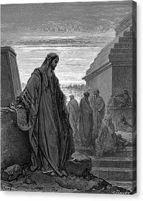 Daniel Canvas Print by Gustave Dore