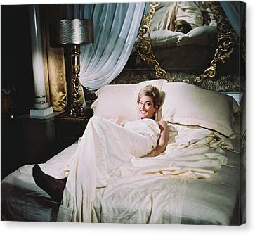 Daniela Bianchi In From Russia With Love  Canvas Print by Silver Screen