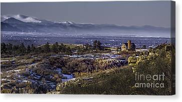 Daniels Back Door Canvas Print