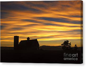 Canvas Print featuring the photograph Daniel's Sunset by Kristal Kraft