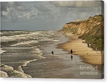Danish Beach In North Jutland Canvas Print