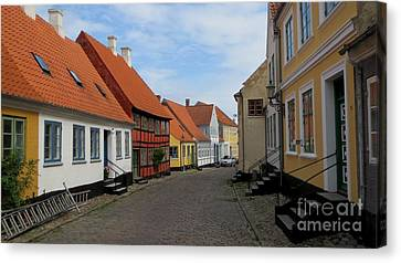 Danish Village Canvas Print by Susanne Baumann