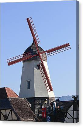 Danish Windmill Canvas Print by Ivete Basso Photography