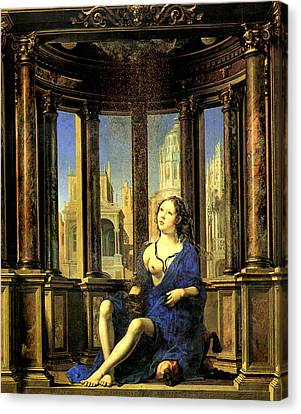 Dantae 1527 Canvas Print by Jan Gossaert