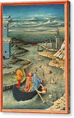 Dante's Inferno Styx Canvas Print