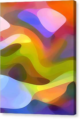 Dappled Light 6 Canvas Print by Amy Vangsgard