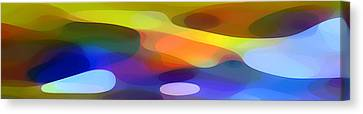 Contemporary Canvas Print - Dappled Light Panoramic 1 by Amy Vangsgard