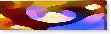 Dappled Light Panoramic 4 Canvas Print