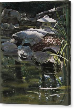 Dappled Light Canvas Print - Dappled Light With Lantern by Christopher Reid