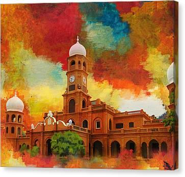 Darbar Mahal Canvas Print by Catf