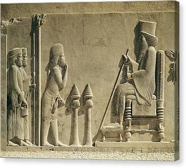 Darius I The Great 550 Bc-486bc Canvas Print by Everett