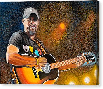 Darius In Concert Canvas Print by Dino Murphy
