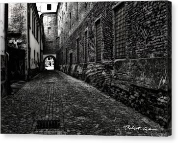 Dark Alley Canvas Print by Robert Culver